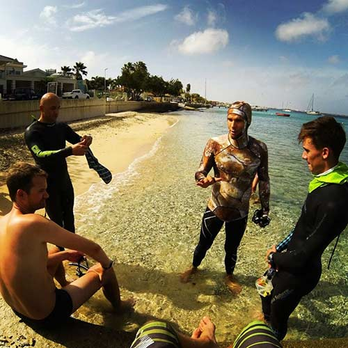 Freedive Course instructor