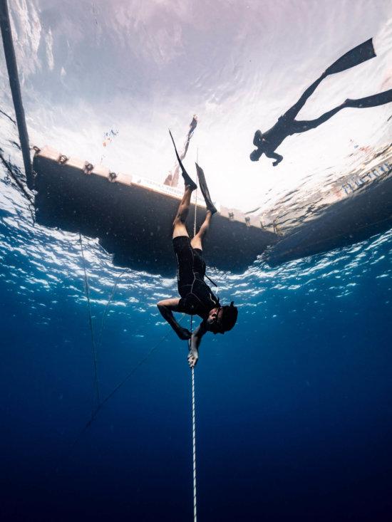 Freediving Curacao Carlos Coste