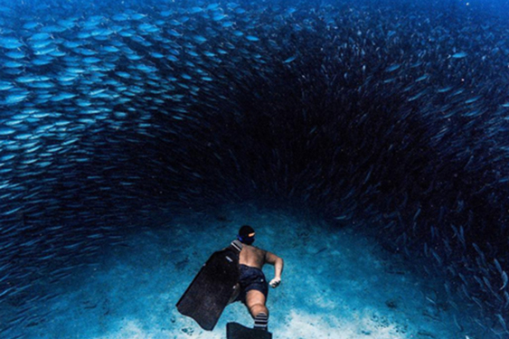 gabycoste, deepsea courses, Deepsea Bonaire, Freediving Caribbean, i2raelgil
